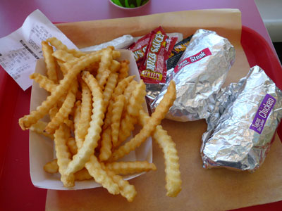 Taco and Fries?