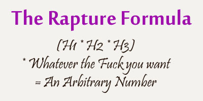 The Rapture Formula